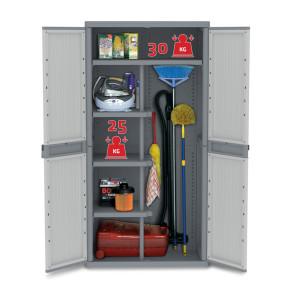 Armarios de pl stico para utensilios de limpieza - Armario pvc exterior ...