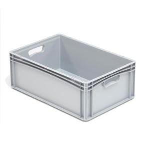 Caja plástica para transporte norma Europea serie Basicline 327B42000