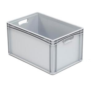Caja plástica para transporte norma Europea serie Basicline 327B42002