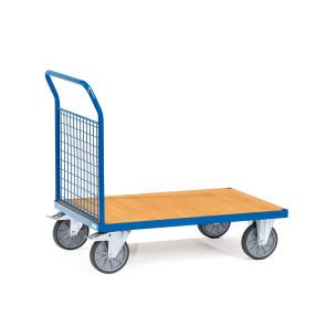 Carro de plataforma con paredes de malla 249B15955