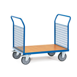 Carro de plataforma con paredes de malla 249B39126