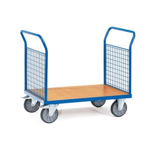 Carro de plataforma con paredes de malla 249B15518