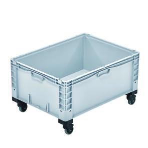 Contenedor plástico cerrado con ruedas 327B48686