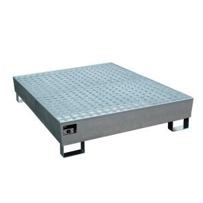 Cubeto colector eco con rejilla para 4 bidones de 200 ltr. 238B45684